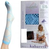 Fish net pattern knee socks