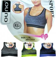 'Push up' sport bra