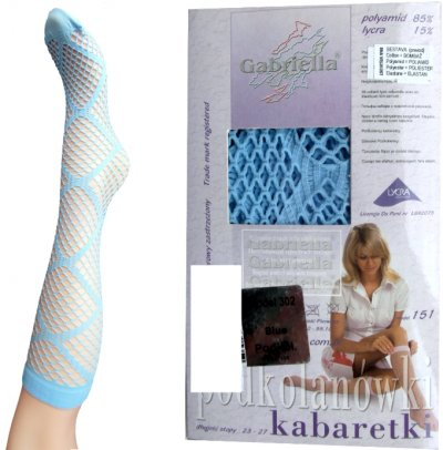 Knee socks fish net