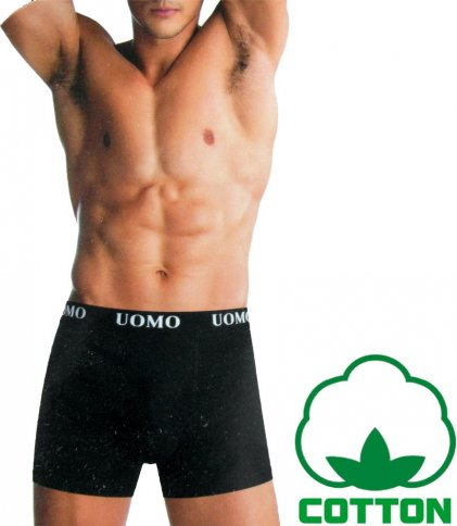 Men's boxer briefs 95% cotton 'UOMO'